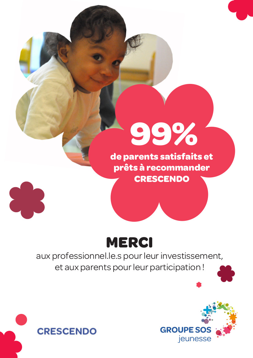 99% de satisfaction !