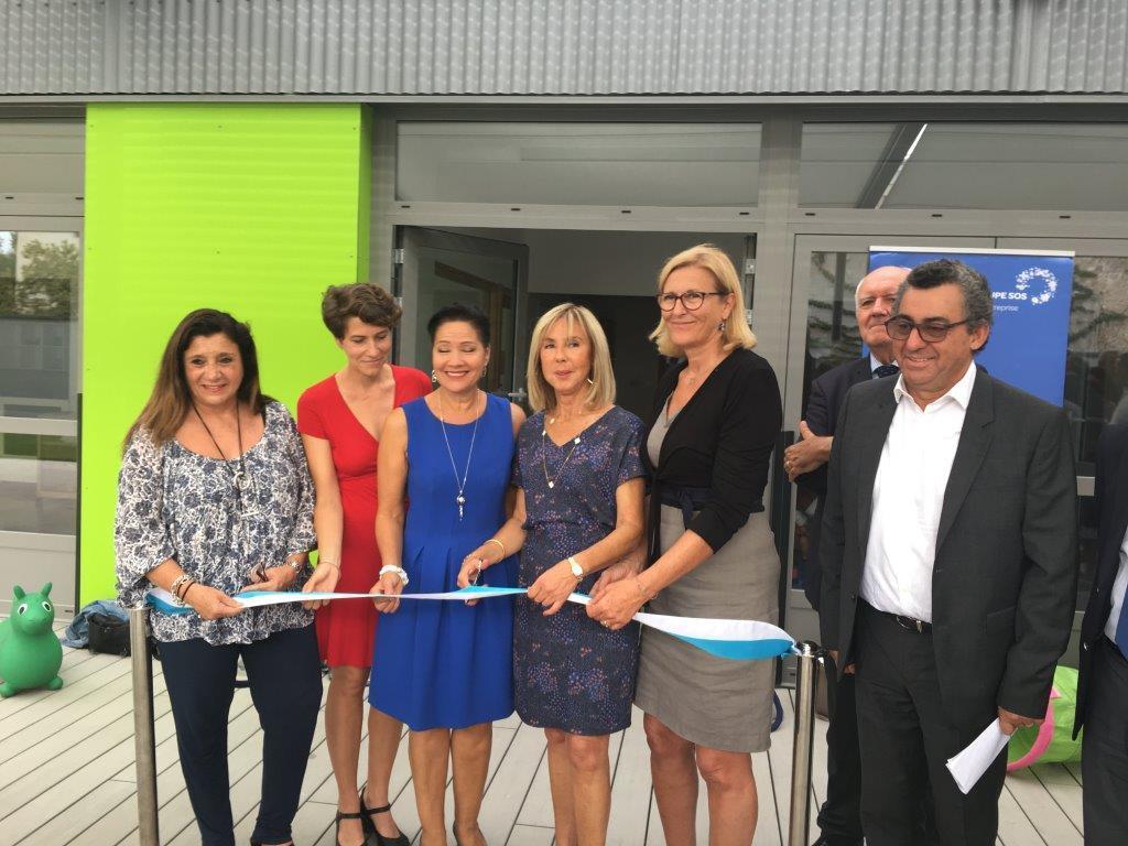 Inauguration de la crèche Plein Soleil à Marseille