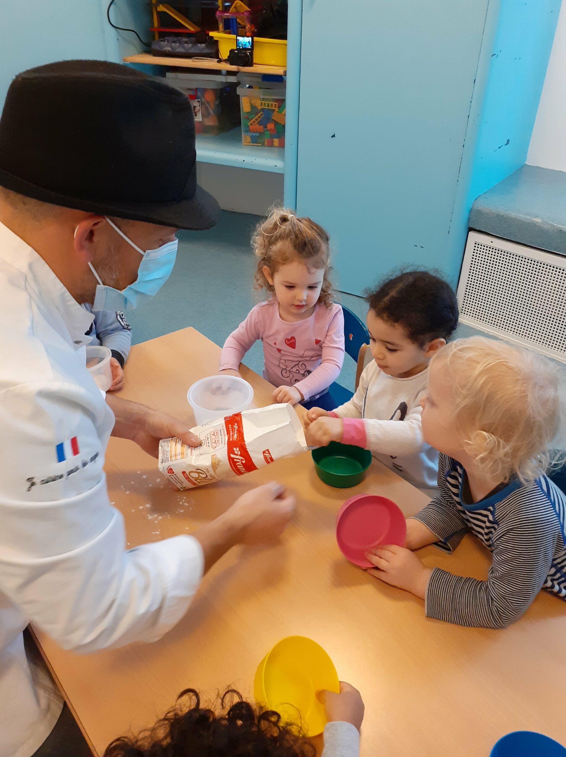 """Au cœur du projet """"Les enfants cuisinent"""""""